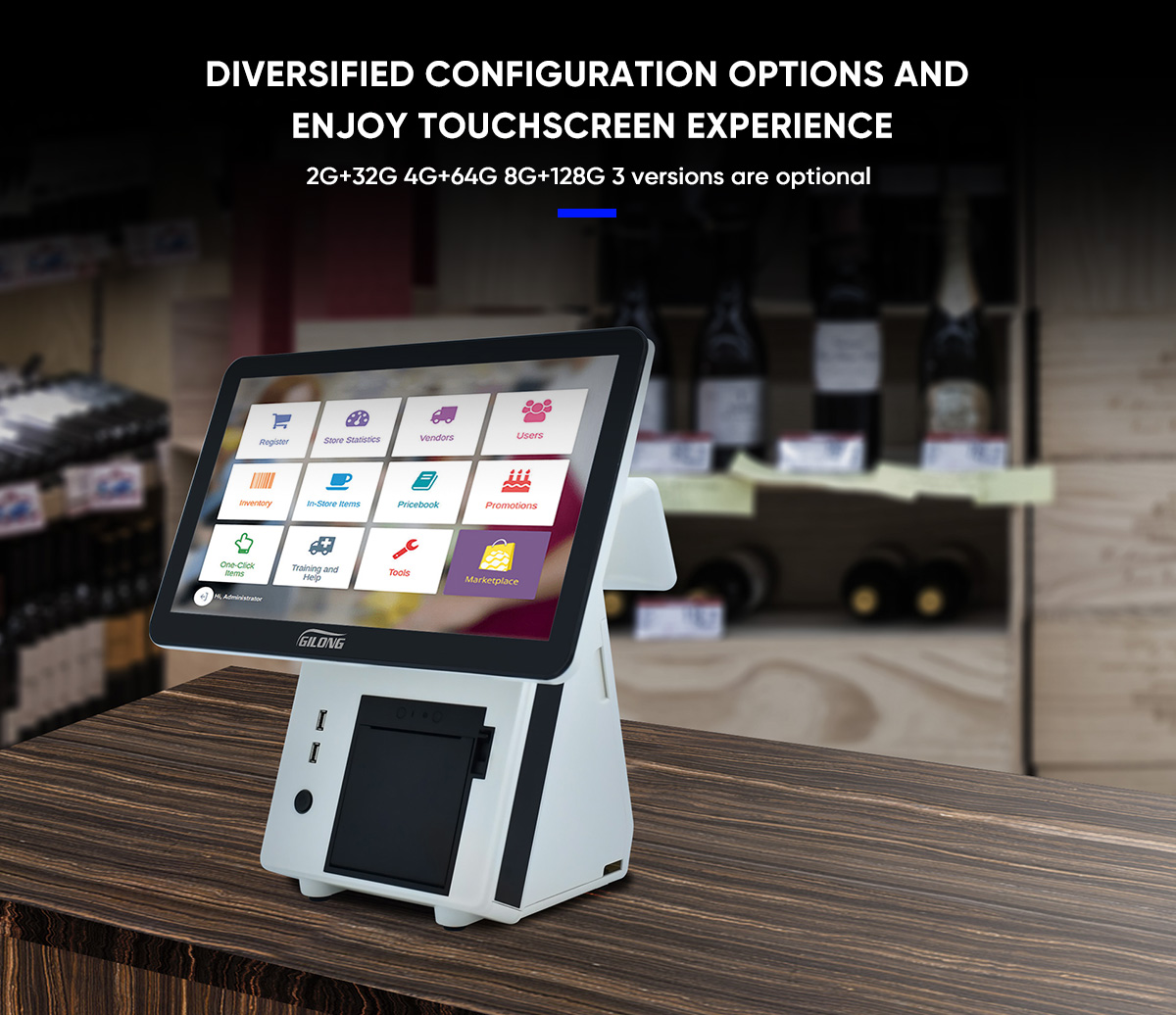 touch POS register